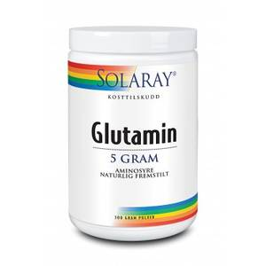 Bilde av Solaray glutamin pulver 300 gram