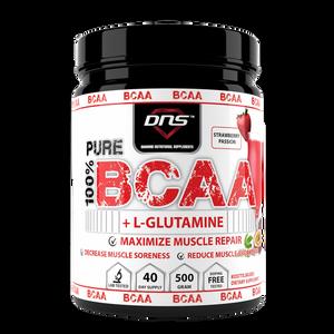 Bilde av DNS BCAA + L-Glutamin  - Strawberry Passion 500g