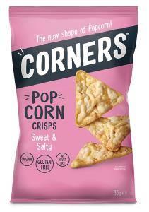 Bilde av CORNERS - POP CORN CHIPS - SWEET & SALTY 85g