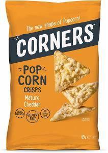 Bilde av CORNERS POP CORN CRISPS MATURE CHEDDAR 85g