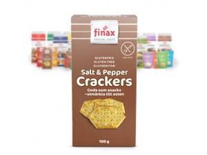 Bilde av Finax salt&pepper crackers 100g