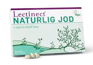 Bilde av Lectinect naturlig jod 60 tbl