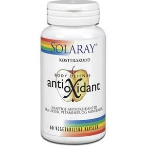 Bilde av Solaray Antioksidant 60 vege.kapsler