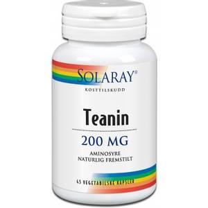 Bilde av Solaray Teanin 200 mg 45 kapsler