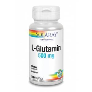 Bilde av Solaray L-Glutamin 500 mg 100 kapsler
