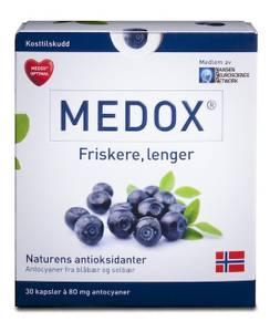 Bilde av Medox optimal 80 mg. 30 kapsler