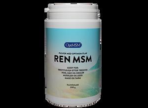 Bilde av Ren MSM Pulver 200 g