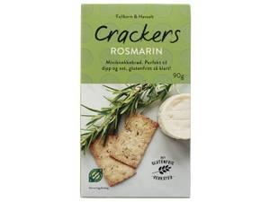 Bilde av Det Glutenfrie Verksted cracker m/rosmarin 90g