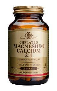 Bilde av Solgar Chelated Magnesium Calcium2:1 90 tbl