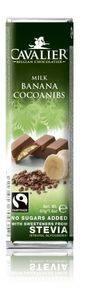 Bilde av Cavalier Bar Melk/banan 40 gram