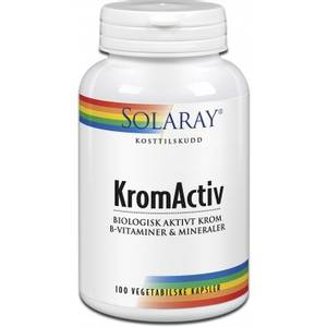 Bilde av Solaray Kromactiv 125 mcg 100 tbl