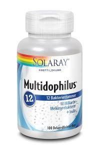 Bilde av Solaray Multidophilus 12. 100 kapsler
