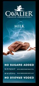 Bilde av Cavalier Melkesjokolade med maltitol. Sukkerfri.