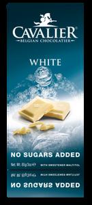 Bilde av Cavalier Hvit sjokolade med maltitol. Sukkerfri.