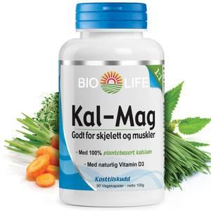 Bilde av Bio Life Kal-Mag +D 90 kaps
