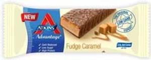 Bilde av Atkins adv. bar fudge caramel 60g