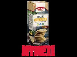 Bilde av Semper crackers med ostesmak 150g