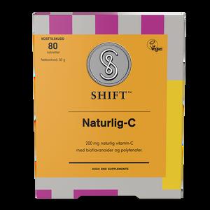 Bilde av SHIFT Naturlig-C 200 mg 80 tbl