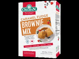 Bilde av Orgran Caramel fudge brownie mix 400g