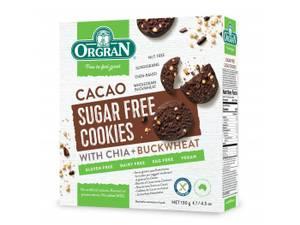 Bilde av Orgran Sukkerfrie sjokolade cookies 130g