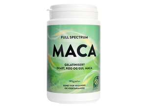 Bilde av Full spektrum maca pulver. 180 g