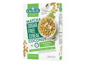 Bilde av Orgran Sugar Free Matcha & Coconut Cereal 200g