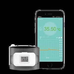 Bilde av Digitalt termometer, kroppsmontert, Bluetooth