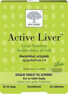 Bilde av Active liver 30 tbl