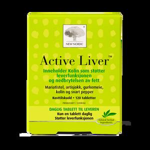 Bilde av Active liver 120 tbl