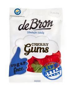 Bilde av Debron cherry gums 90 gram