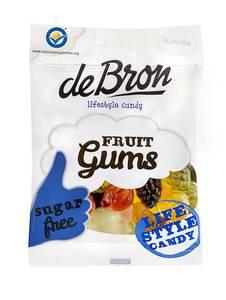 Bilde av Debron fruit gums 100 gram