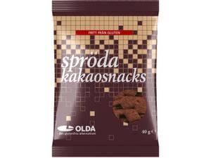 Bilde av Oldas kakaosnacks 40g