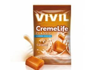 Bilde av Vivil drops karamell uten sukker. 110 gram