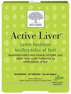 Bilde av Active liver 60 tbl