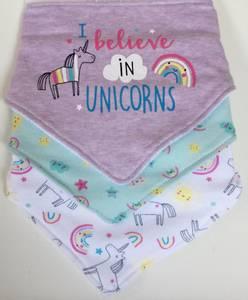 Bilde av 3pk myke smekker - I believe in unicorns