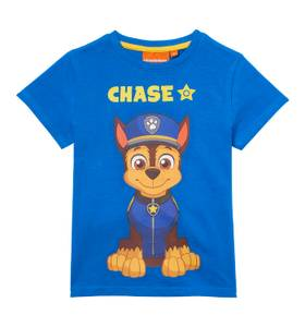 Bilde av T-skjorte med motiv foran og bak - Paw Patrol