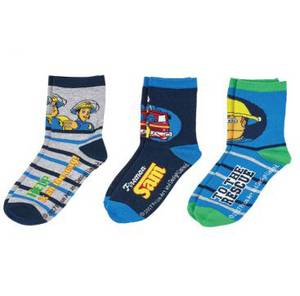 Bilde av 3pk sokker - Brannmann Sam - To the rescue