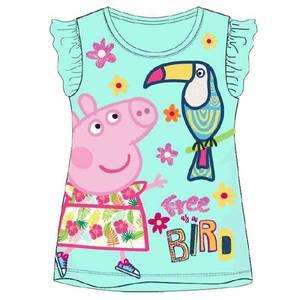 Bilde av T-skjorte - Peppa Gris - Free as a bird - Mint