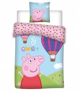 Bilde av Juniorsengesett - Peppa Gris - Luftballong