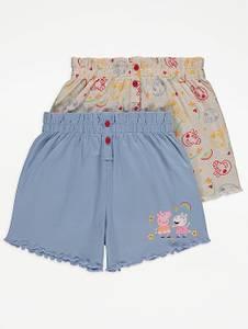 Bilde av 2pk shorts - Peppa Gris og Susi Sau