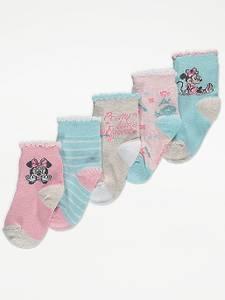Bilde av 5pk sokker - Minnie Mus