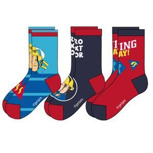 Bilde av 3pk sokker - Brannmann Sam - Hero Next Door