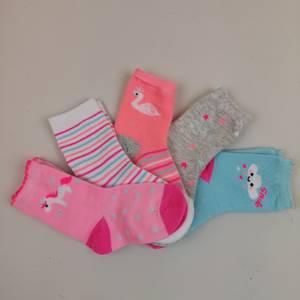 Bilde av 5pk sokker - Neon - ulike motiv