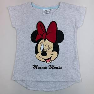 Bilde av T-skjorte med vendbare paljetter - Minnie Mus