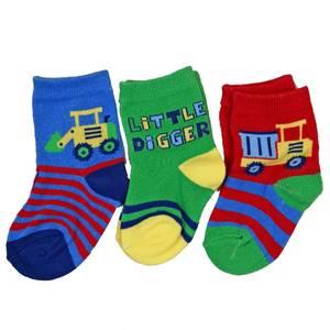 Bilde av 3pk sokker - Little Digger