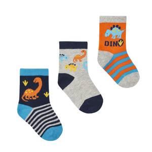 Bilde av 3pk sokker - Dinosaur