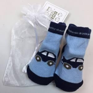 Bilde av Sokker i gavepose - Bil