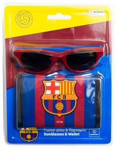 Bilde av Lommebok og solbriller - F.C Barcelona