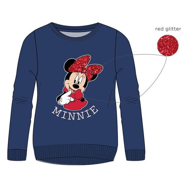 Sweatshirt - Minnie Mus - Blå