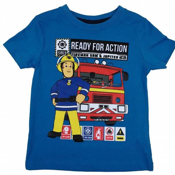 T-skjorte - Brannmann Sam og Jupiter - Ready for Action
